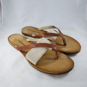 Lucky Brand Brown Baxx Sandal